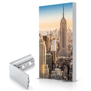 Fabric Backlit Lightbox